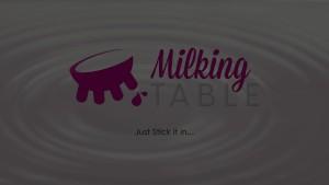 MilkingTable Secret Blowjob, Under the Table