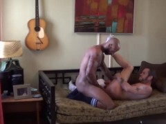 BBC in Small White Hole - Damon Doggs Cum Factory