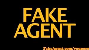 FakeAgent Petite brunette amateur impresses in Casting interview