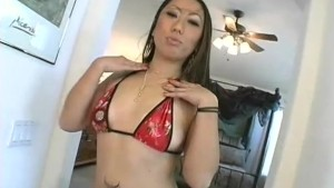 Two Big-Cocks For This Japanese Whore - Juicy