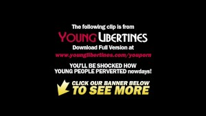 Young Libertines - Naked gymnastics and sex