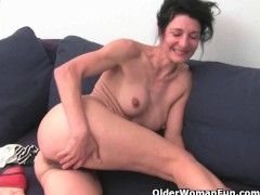 : Older women soaking their cotton panties with pussy juice
