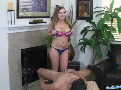 Picture Busty Young Girl 18+ Tiff Bannister sucks gu...