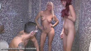 German Amateur Threesome with a milf