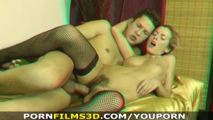 Porn Films 3D - Sexy smoker and her hairy pussy