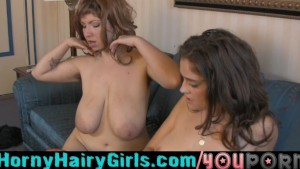 Horny Hairy Girls