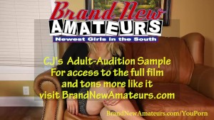 BrandNewAmateurs CJ BBW Blonde and Pretty with Huge Titties does Casting Couch Porn Audition