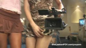 Nikki Montero and Vanushi in shelesbian action