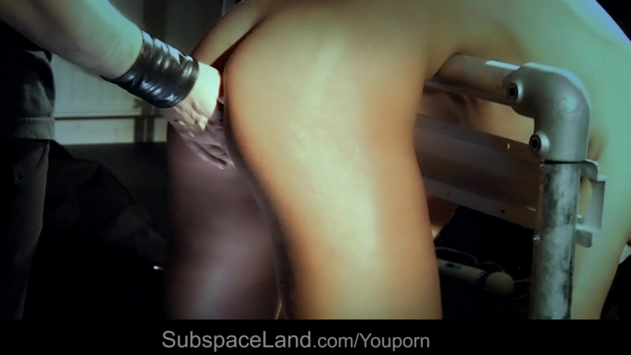 Hardcore Julie sexy dressed for bdsm spank and fuck fantasy