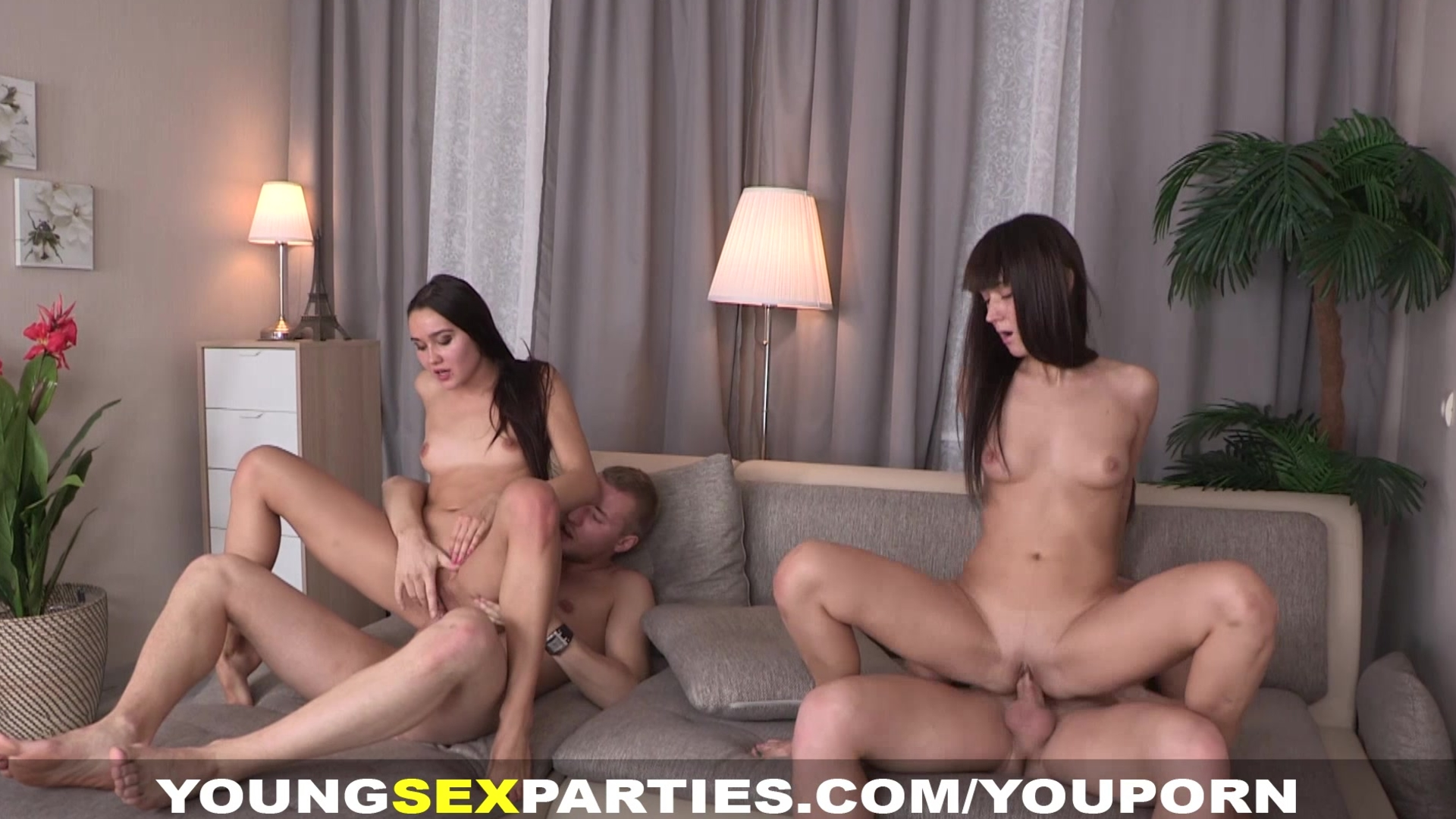 Young Sex Parties - Foursome p