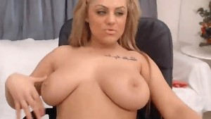 20-year-old with big tits and nice pussy