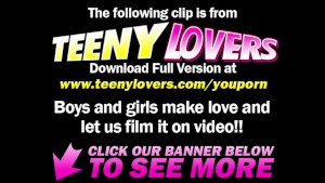 Teeny Lovers - Shopping makes a teeny horny