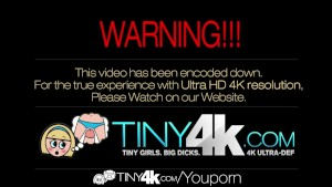 4K HD - Tiny4K Petite blonde Jenna Marie gets fucked by a huge cock