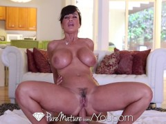 Picture HD - PureMature Lisa Ann gets ass fucked by...
