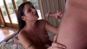Brunette Gets Drilled By Two Dudes - Acid Rain