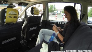 CzechTaxi Multiple Female Orgasm in the Backseat