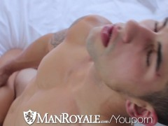 Picture HD - ManRoyale Hot muscled guys get kinky in...