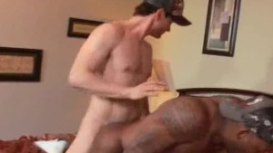 Bareback Fucking Men Interracial Action