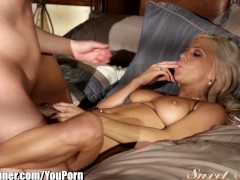 SweetSinner Seth Gamble and Sensual Blonde Babe