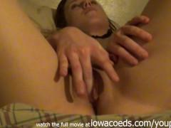 brunette ex girlfriend home video from nebraska