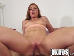 Mofos - Cute little redhead loves cock