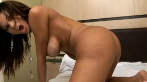 Shemale Sex with Horny Guy, Hot Cum Bareback