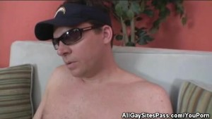 Shady Guy Masturbates
