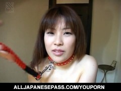 Hikaru Hinata loves toys in her pussy