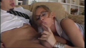 Horny-Bitch Swallows Fresh Cum - Asses Up