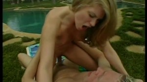 Cum See A Cock-Riding Blonde - Acid Rain