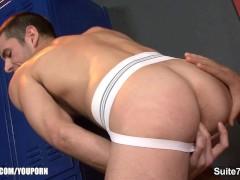 Picture Gay jocks sucking their large pricks