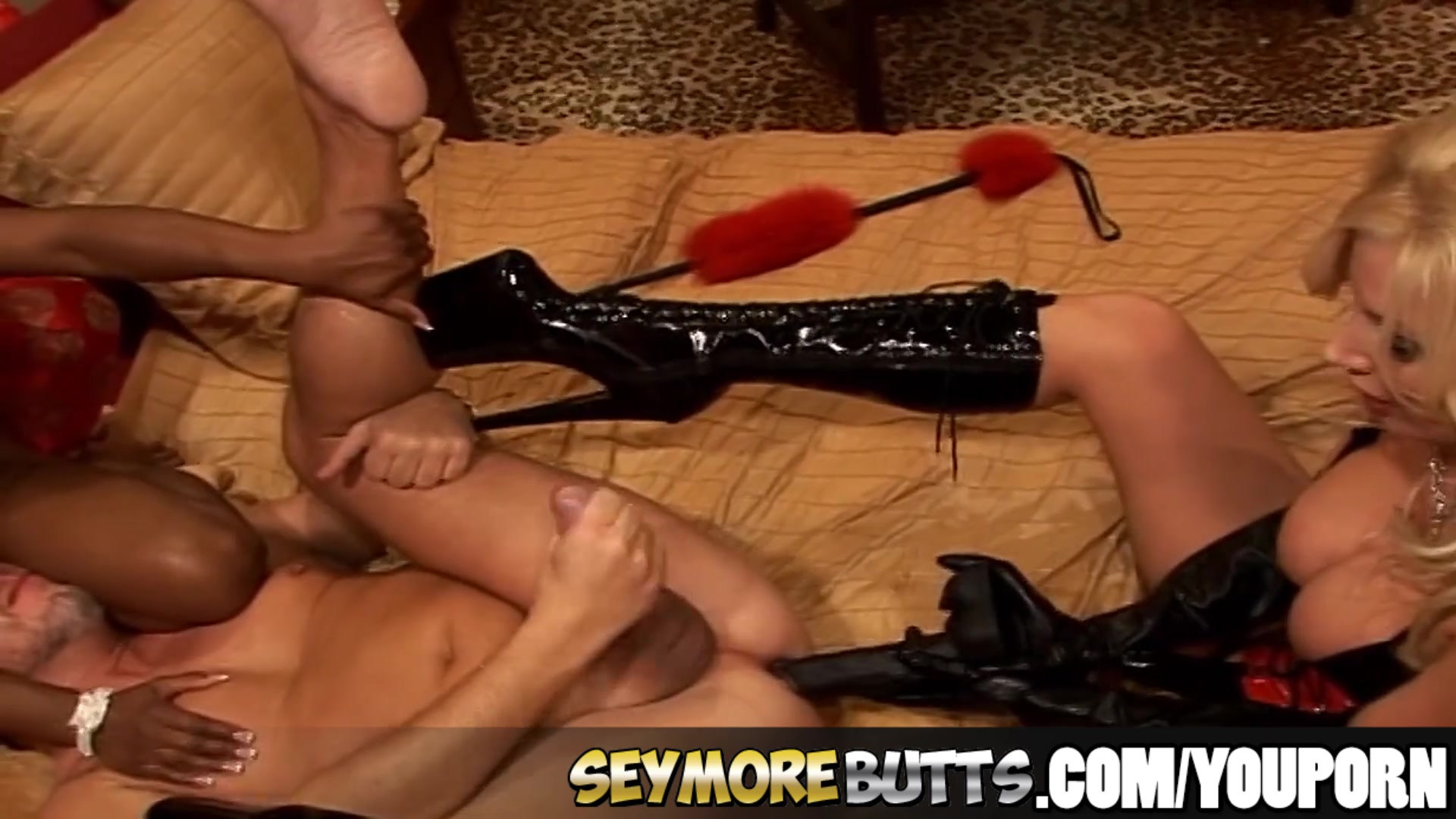 SeymoreButts Interracial three
