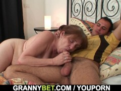 - Injured old grandma ge...