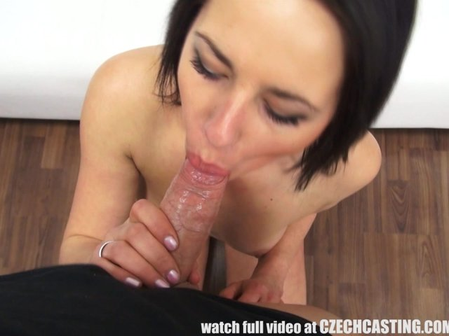 Recorded interracial blow job