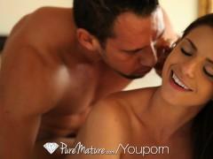 Picture HD PureMature - Big tit milf Brooklyn Chase...