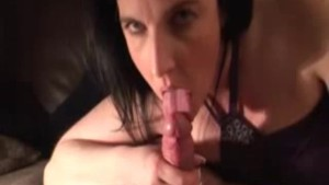 Long and slow sucking with passion