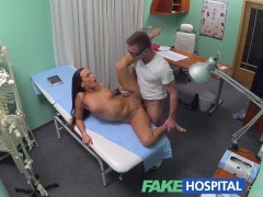 FakeHospital Young doctor rises to the big occasion with hot patient