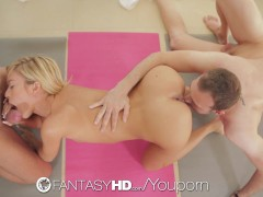 Picture FantasyHD - Lola Reve tries some double pene...