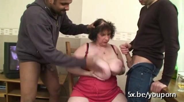 French granny Ginette fucked i