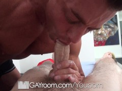 Picture HD GayRoom - Travis gets massaged by Tyler Saint