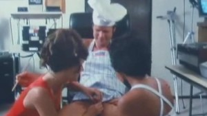 Hairy Threesome From 1978 Is Awesome Fun!