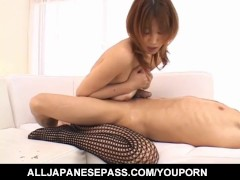 Picture Ai Kurosawa gets ready to deal cock