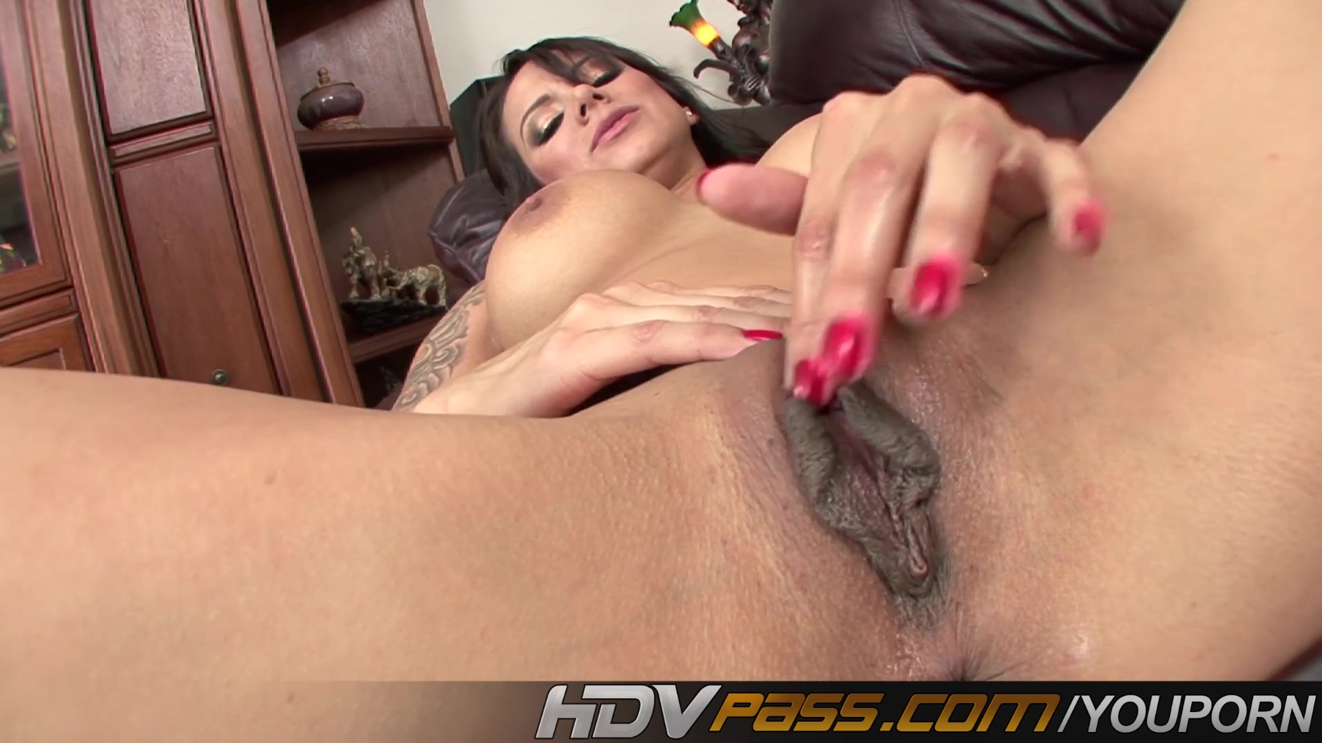 image Hdvpass nadia styles fingers her cunny and ass