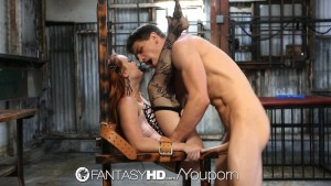 HD FantasyHD - The ultimate caged submissive hottie Dani Jensen