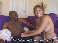 Huge Cock For White SWinger Wife