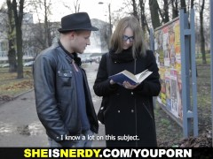 She Is Nerdy - Sharing love for books and sex