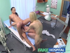 Picture FakeHospital Doctor and nurse team up and pleasur...