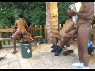 Mmf Outdoors video: Double Fucked Outside- Java Productions