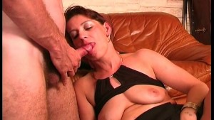 Natural milf sucking cock - Java Productions