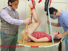- Chained, fucked in her...